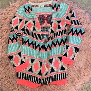 Love Aztec Cardigan
